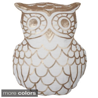 Marvin Owl Shape Throw Pillow (Multiple Options)