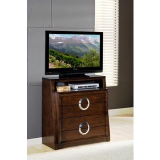 Presley 4-drawer Dark Birch TV Media Chest