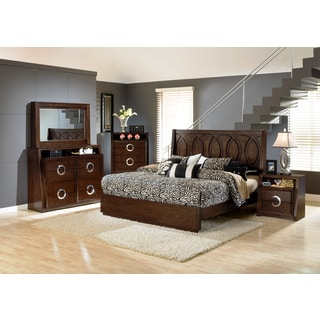 Presley 5-piece Dark Birch Bedroom Set