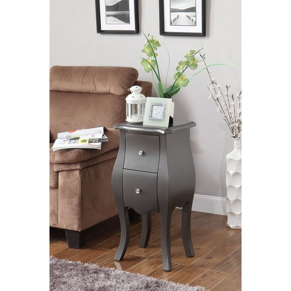 Mia Grey Side Table