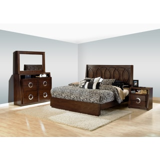 Presley 4-piece Dark Birch Bedroom Set