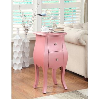 Mia Pink Side Table