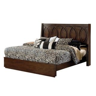 Presley Dark Birch Bed