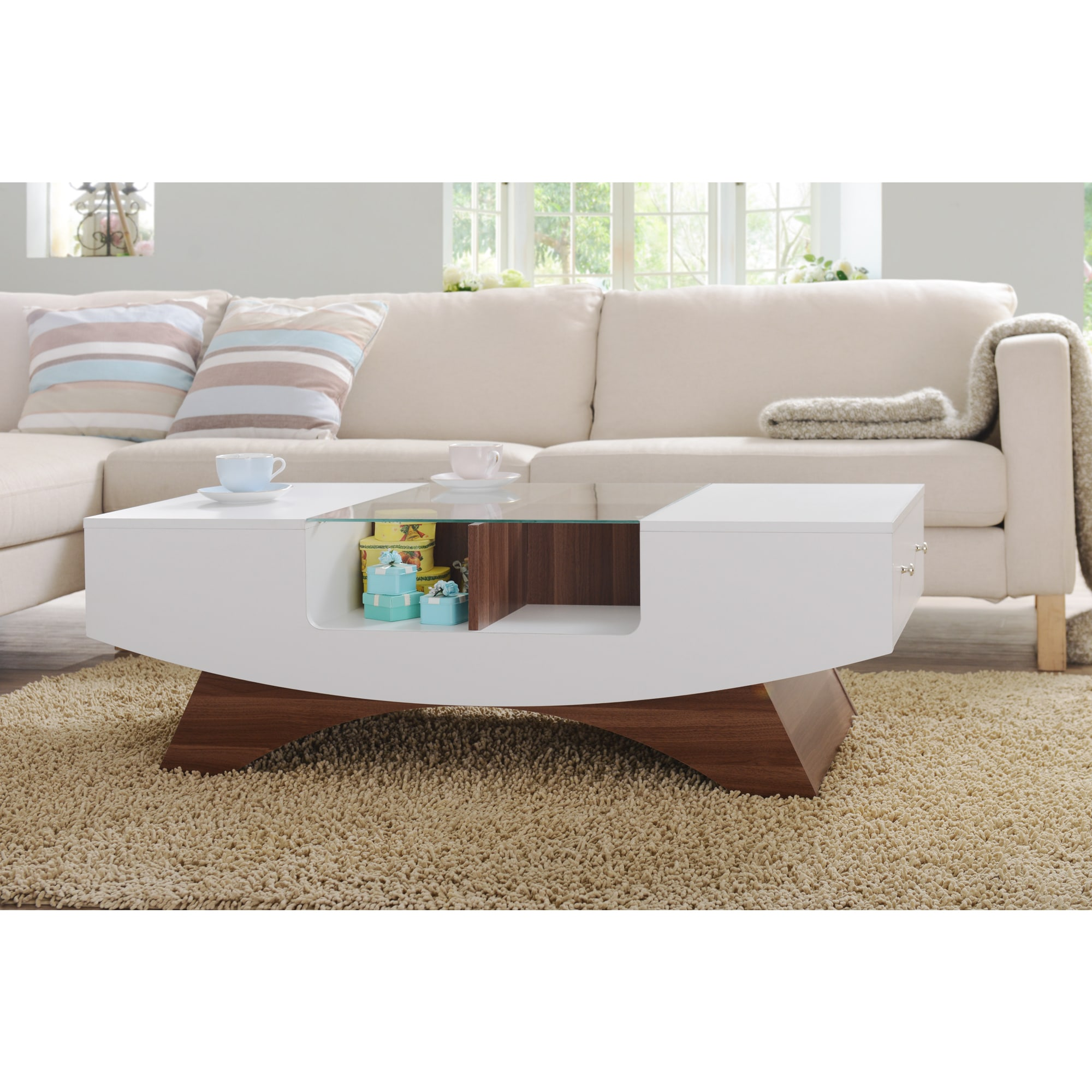 Coffee Table With Seats