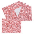 Sea Breeze Coral Printed Placemats (Set of 6)
