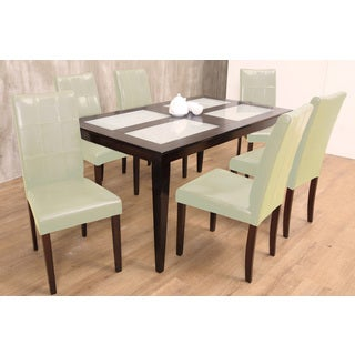 Warehouse of Tiffany Bass Cream 7-piece Dining Set