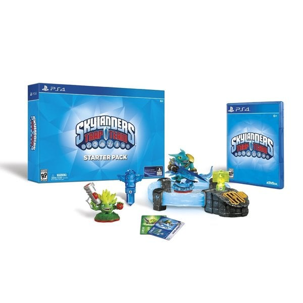 PS4 - Skylanders Trap Team Starter Pack 12935626
