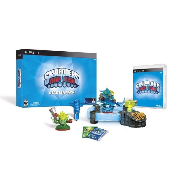 PS3 - Skylanders Trap Team Starter Pack 12935627