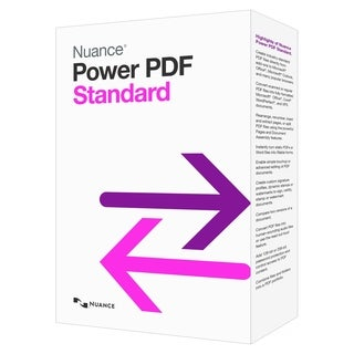Nuance Power PDF Standard - Complete Product - 1 User