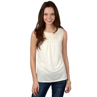 Journee Collection Women's Crinkle Shell Top