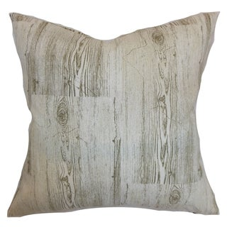 Kratie Dove Down Filled 18-inch Throw Pillow