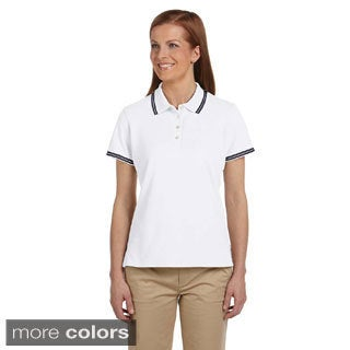 Women's Tipped Performance Plus Pique Polo