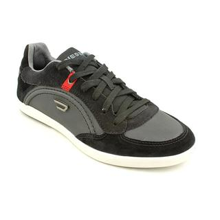 Diesel Men's 'Eastcop Starch' Leather Athletic Shoe
