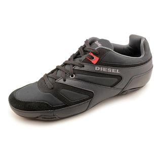 Diesel Men's 'Trackkers Smatch S' Leather Athletic Shoe