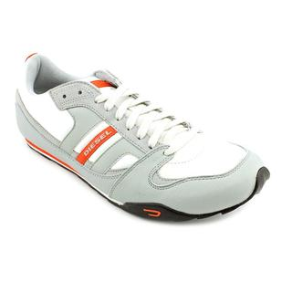 Diesel Men's 'Long Term Gunner' Leather Athletic Shoe
