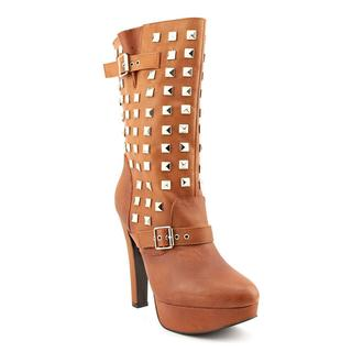 N.Y.L.A. Women's 'Apollo' Leather Boots