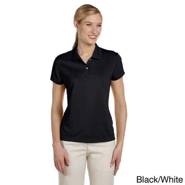 Adidas Women's ClimaLite Short Sleeve Pique Polo Shirt