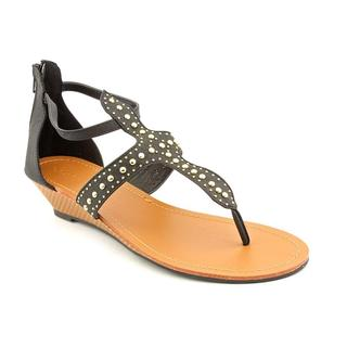 Groove Women's 'Suri' Faux Leather Sandals