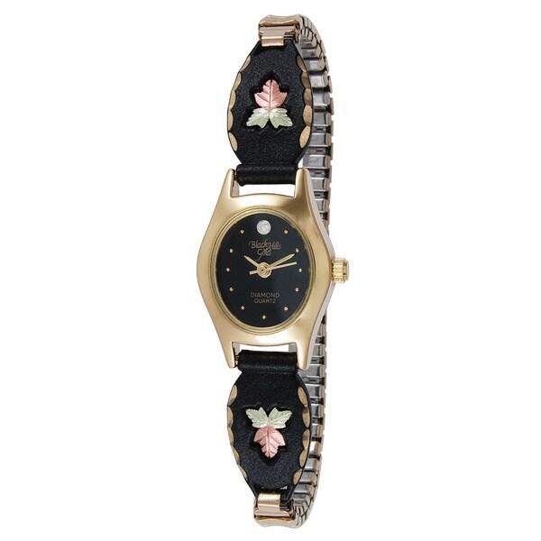Black Hills Women's Midnight Eclipse Gold Watch