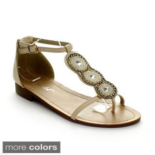 Bonnibel Nuna-1 Women's Rhinestone Strap Sandals