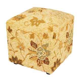 South Beach Beige Indoor/Outdoor Ottoman