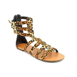 Groove Women's 'Sonia' Faux Suede Sandals