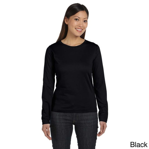 Women's Combed Ringspun Jersey Long Sleeve T-shirt