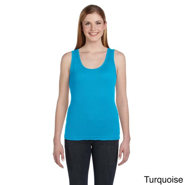 Women's Combed Ringspun Cotton 2x1 Rib Tank 12940541