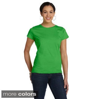 Women's Fine Jersey Crew Neck T-shirt