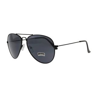 Thomas Wayne Black Aviator Sunglasses