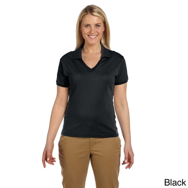 Women's 50/50 Jersey Polo with SpotShield