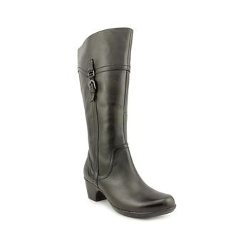 Clarks Women's 'Inglalls Vicky2' Leather Boots - Wide
