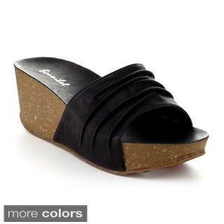 Bonnibel Boris-1 Women's Lightweight Foam Midsole Slip On Sandals
