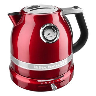 KitchenAid KEK1522CA Pro Line Series Candy Apple Red Electric Kettle