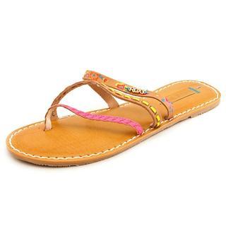 Roxy Women's 'Mardi Gras B' Leather Sandals