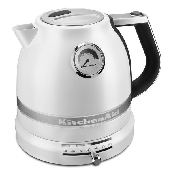 KitchenAid KEK1522FP Pro Line Series Frosted Pearl White Electric Kettle