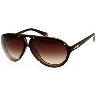Emporio Armani Men's EA4010 508913 Dark Havana Sunglasses