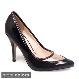 FFC New York Women's 'Trans' Patent Pumps