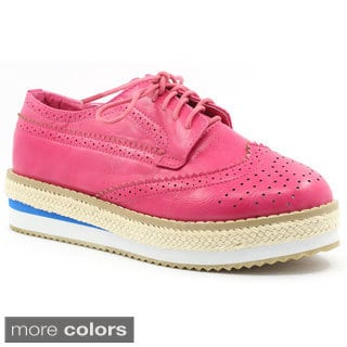 FFC New York Chando Women's Platform Oxfords