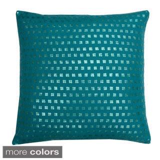 Mila Sequin 20x20-inch Throw Pillow