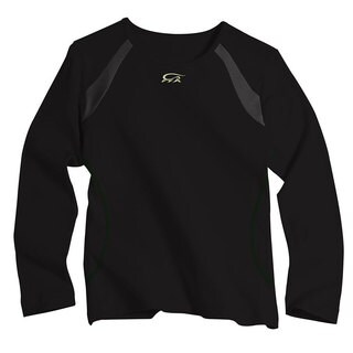 IguanaMed Women's Eclipse Black Long Sleeve Skinz T-shirt