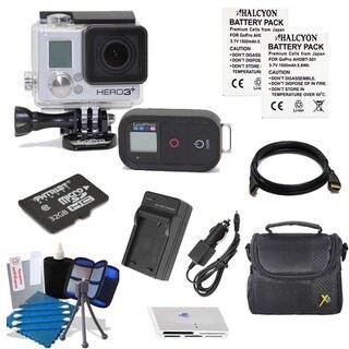 GoPro HERO3+ Black Edition Surf Waterproof Camcorder 16GB Bundle