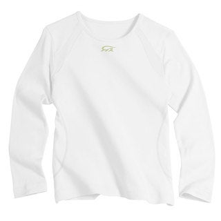 IguanaMed Women's White Long Sleeve Skinz T-shirt