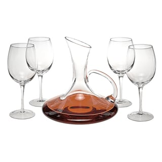 Tristen 5-piece Glass Wine Set