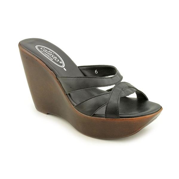 Callisto Women's 'Sugar' Leather Sandals