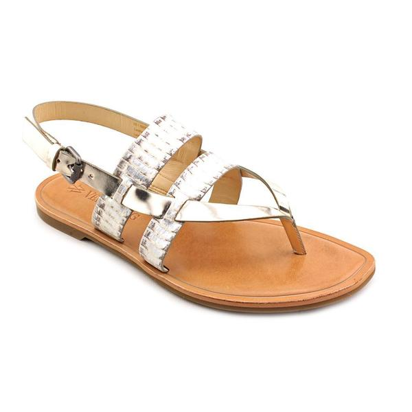 Vera Wang Women's 'Annie' Leather Sandals (Size 7.5 )