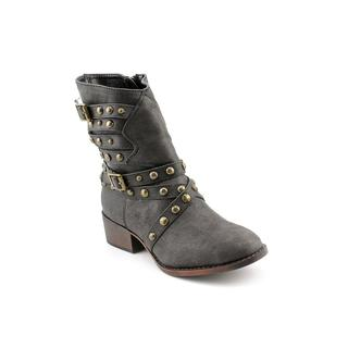 Steve Madden Girl (Youth) 'Jhaleyy' Basic Textile Boots