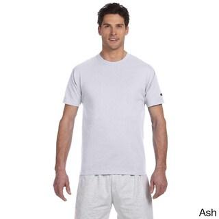 Champion Men's Tagless Crew Neck T-shirt