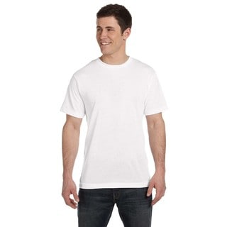 Men's White Moisture Management T-shirt