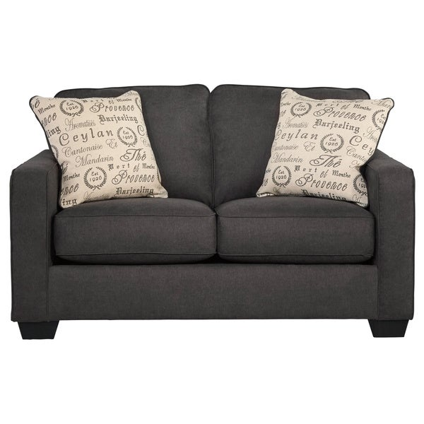 Signature Design by Ashley Alenya Charcoal Loveseat